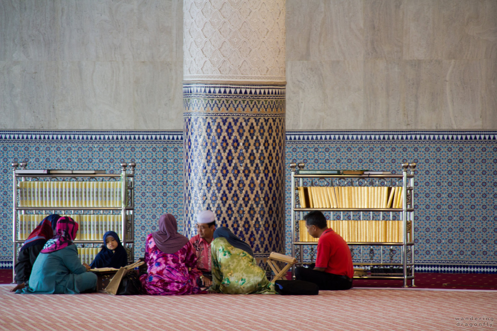 Reading the Quran -- mosque, quran, reading, teaching