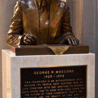 George R. Moscone was the Mayor of the city beetween 1976-1968.