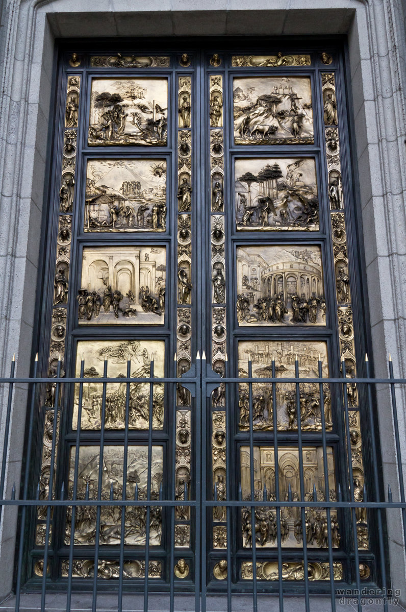 Main gate of the Grace Chatedral -- art, door, relief