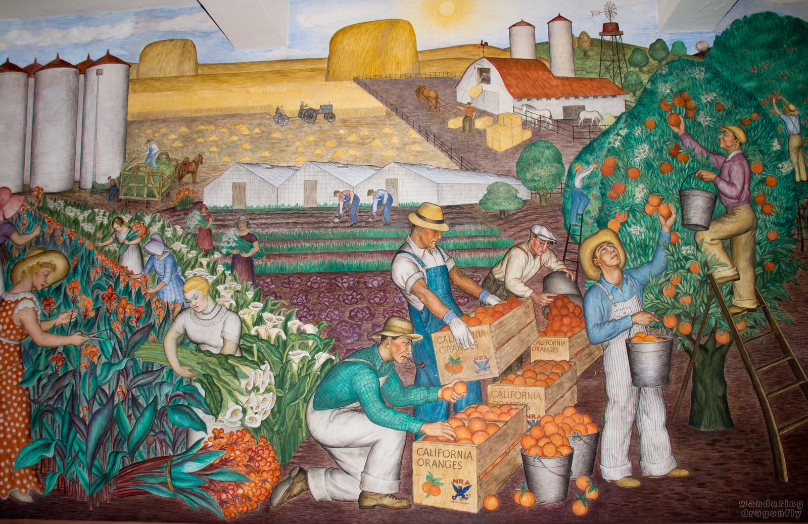 coit tower murals images galleries